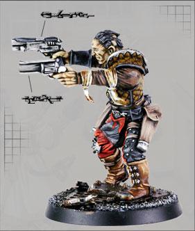 Slick Devlan gunfighter